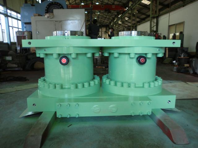 スプリッター用油圧シリンダー